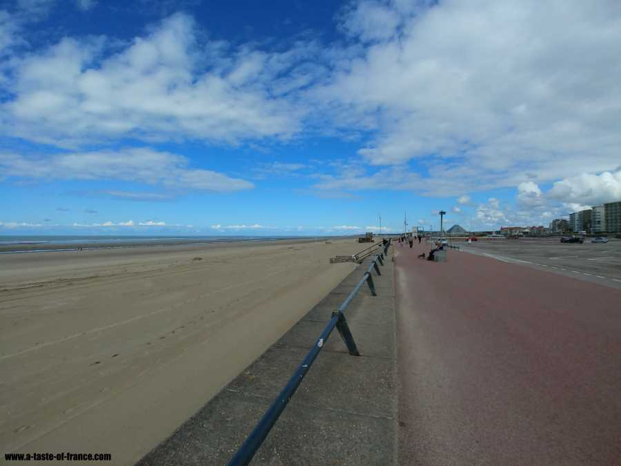 The sea front at Le Touquet