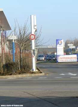 Leclerc supermarket Boulogne