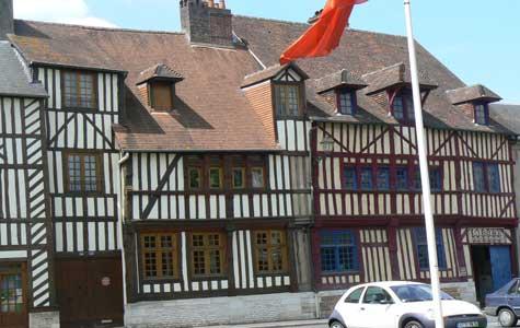 Lisieux house  Calvados  Normandy