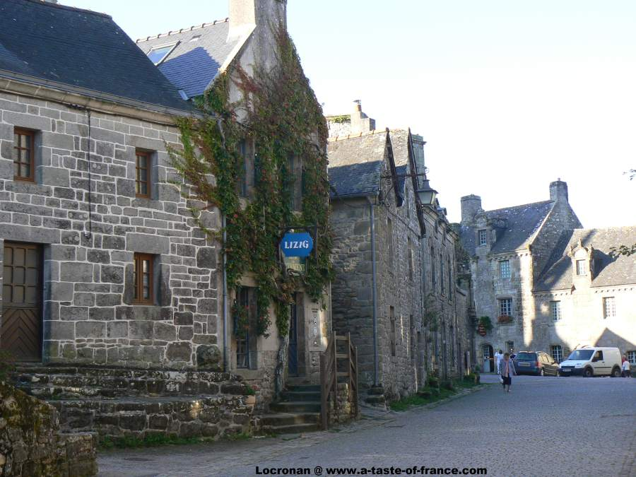 The Locronan-Brittany