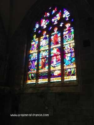 Locronan church picture