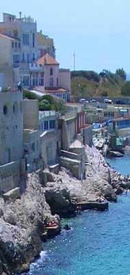 Marseilles sea