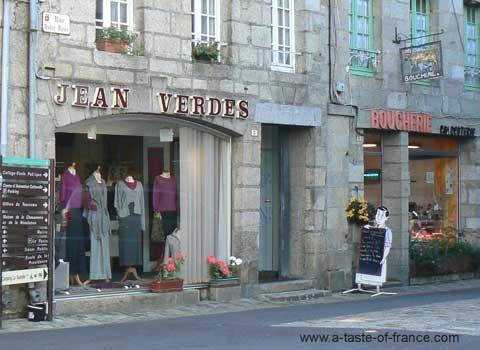 Moncontour shop Brittany