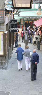 Mont Saint Michel street