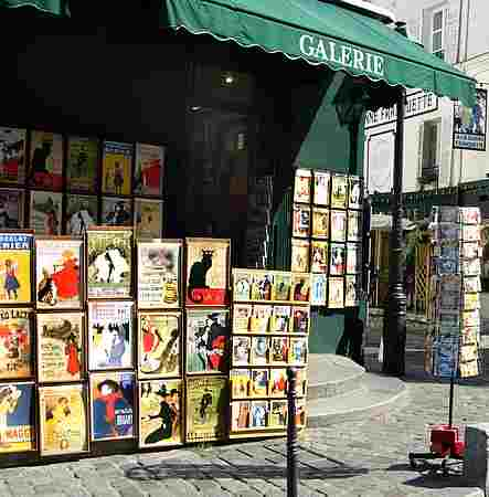 montmartre shop picture