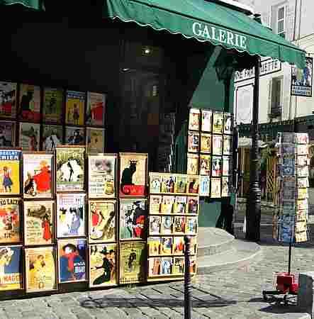 montmartre shop picture
