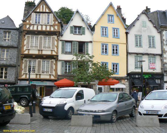 morlaix town centre