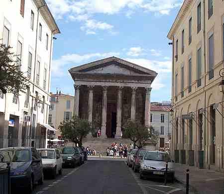 Nime Roman temple picture