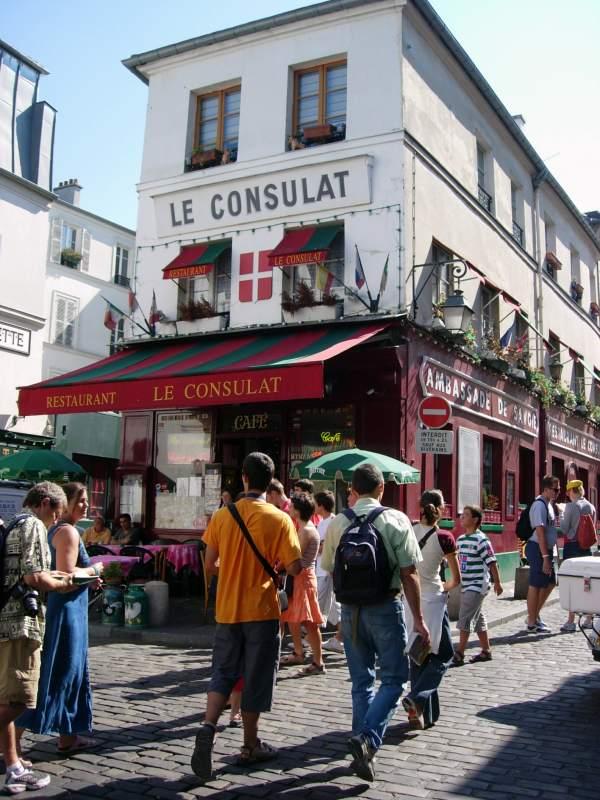 montmartre street picture