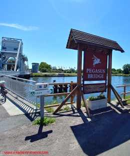 Pegasus bridge sign