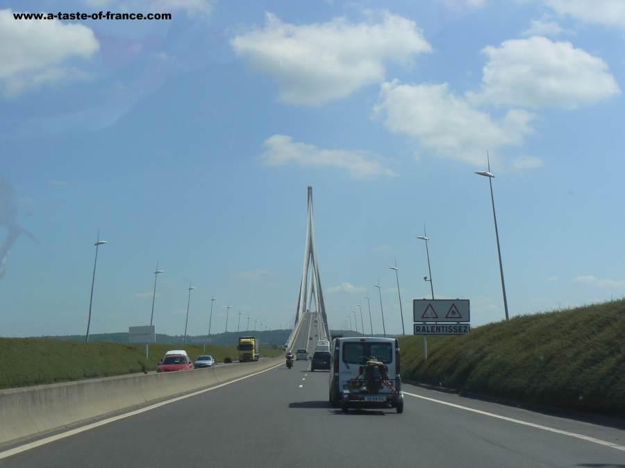Pont Normandie bridge France