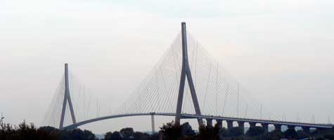 Pont Normandie bridge Normandy