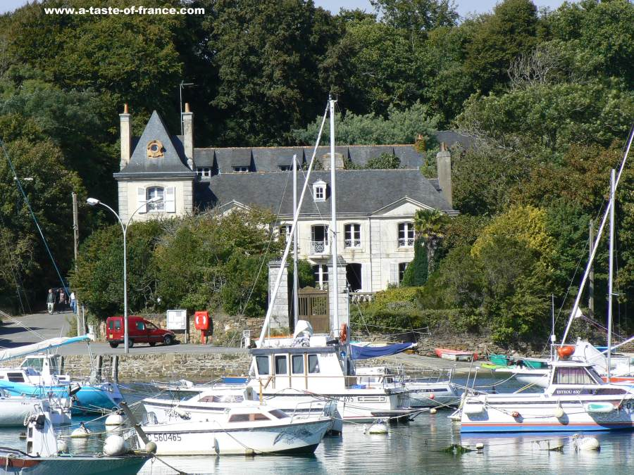 Port de Belon BrittanyFrance