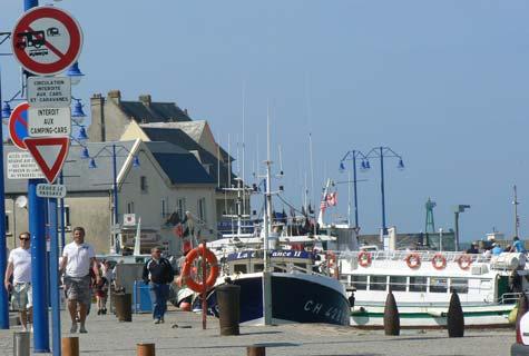 Port en bessin huppain France Calvados Normandy