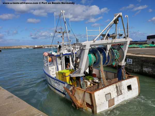Fishing boat in Normandy photo of the day France picture