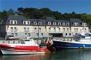 port en bessin huppain hotel Normandy