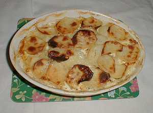 picture of potato gratin