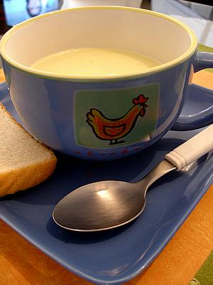potato and leek soup picture