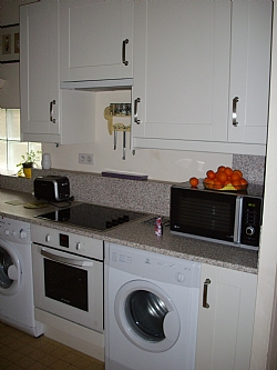 Kitchen of our rental house