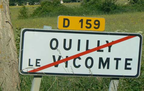 Quilly le Vicomte Calvados Normandy
