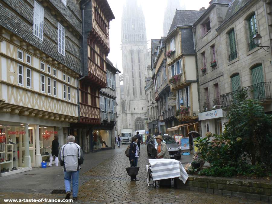 Quimper Brittany France