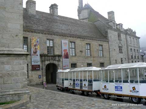Quimper tourist train Brittany