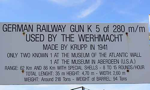 railway gun France picture 1