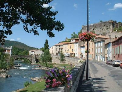 Quillan River & Old Bridge