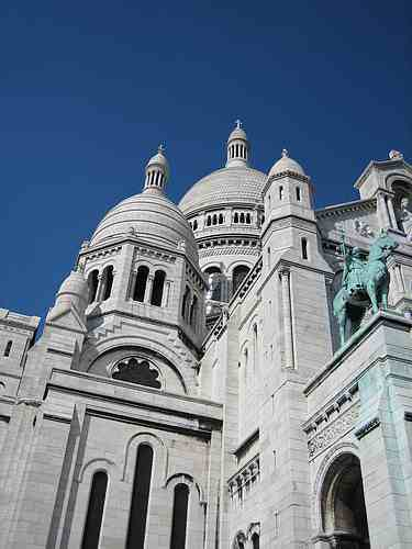 Sacre Coeur church Paris