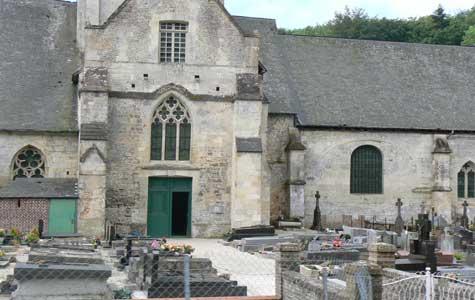 Saint Hymer church Calvados  Normandy