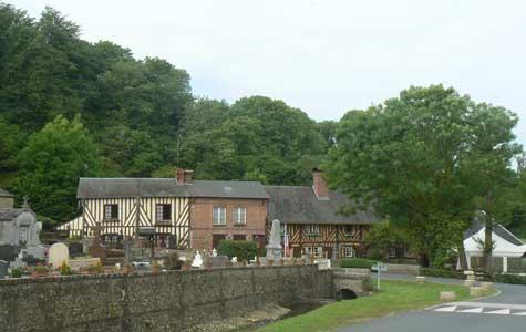 Saint Hymer village Calvados Normandy