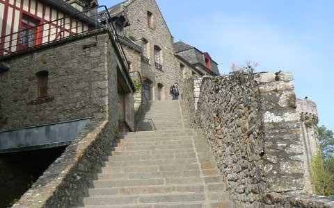 Saint Michel walls La Manche  Normandy