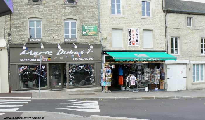 Sainte Mere Englise  village in Normandy