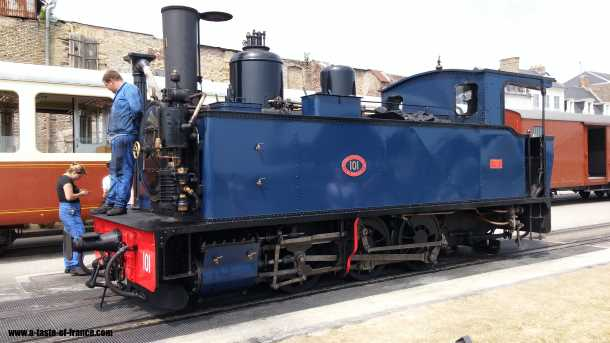 saint valery sur somme steam-train picture