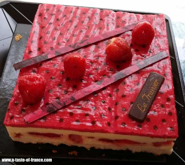 strawberry tart in Normandy  France picture 1