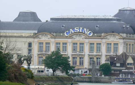 Trouville sur Mer casino  Calvados  Normandy