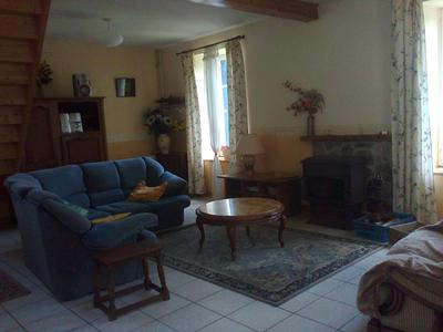Living room in one of the houses