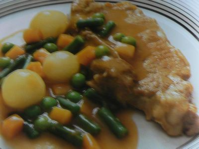 veal jardiniere picture