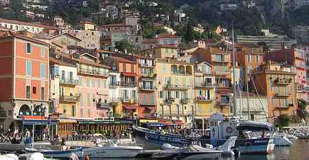 villefranche harbour picture