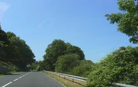 Villerville road France Calvados Normandy