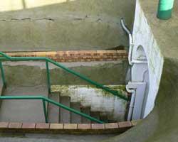 Vimy ridge tunnel picture