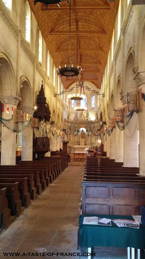 yport church Normandy